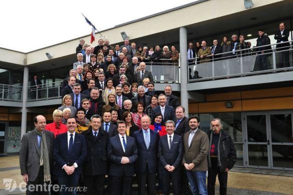 presentation candidats droite et du centre droit pour les elections departementales ump udi modem le 24 janvier 2015 photo francis campagnoni - Francis CAMPAGNONI