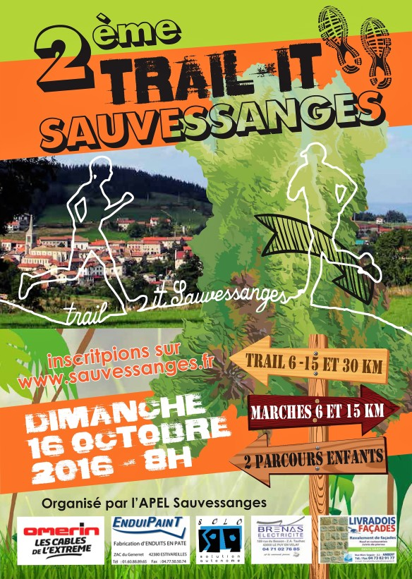 Affiche TRAIL-IT 2016