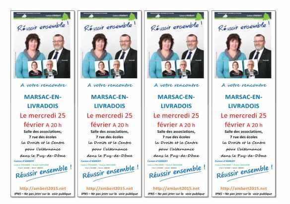 départementales 2015, canton d'Ambert