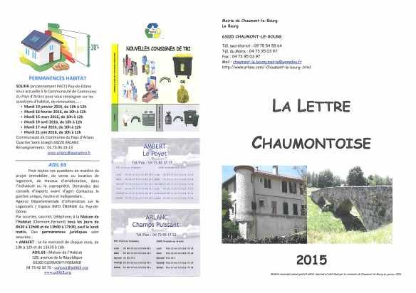 lettre chaumontoise
