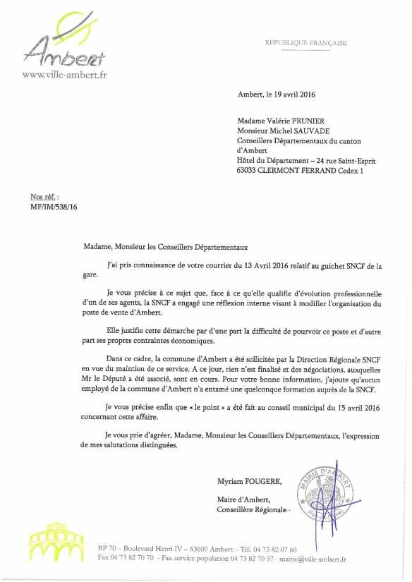 2016-04-19 lettre Ambert